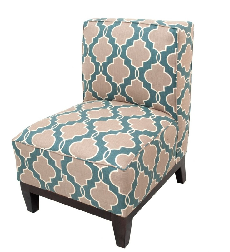 Randall Chair - Teal Geo