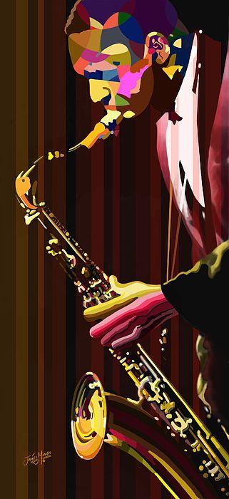 Coltrane by James Mingo