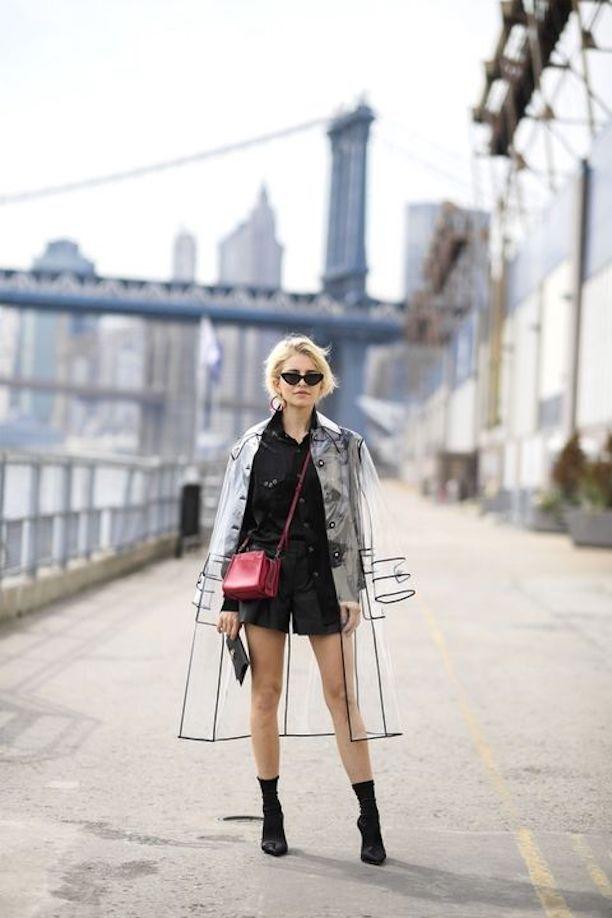 Parisienne: CLEAR PVC | Looks com tenis, Moda para mulher