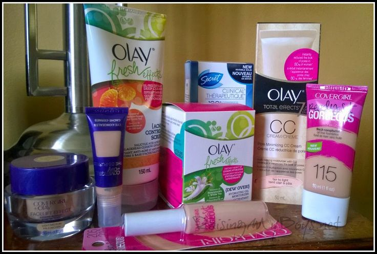 Raising My Boys: Back to Routine with Olay, Cover Girl & Secret #PGMom {Giveaway}