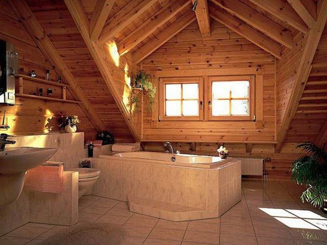 luxury log home bathrooms yahoo image search results