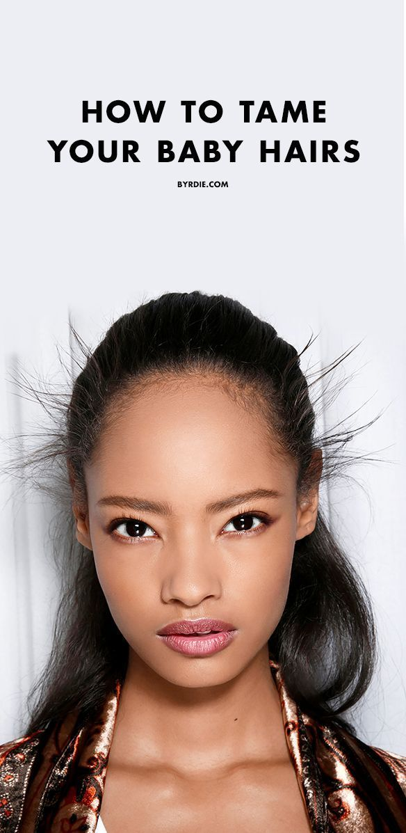 Everyone has those annoying little fly-aways. How to tame those baby hairs!