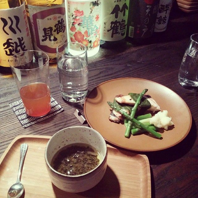 Japanese style cocktails