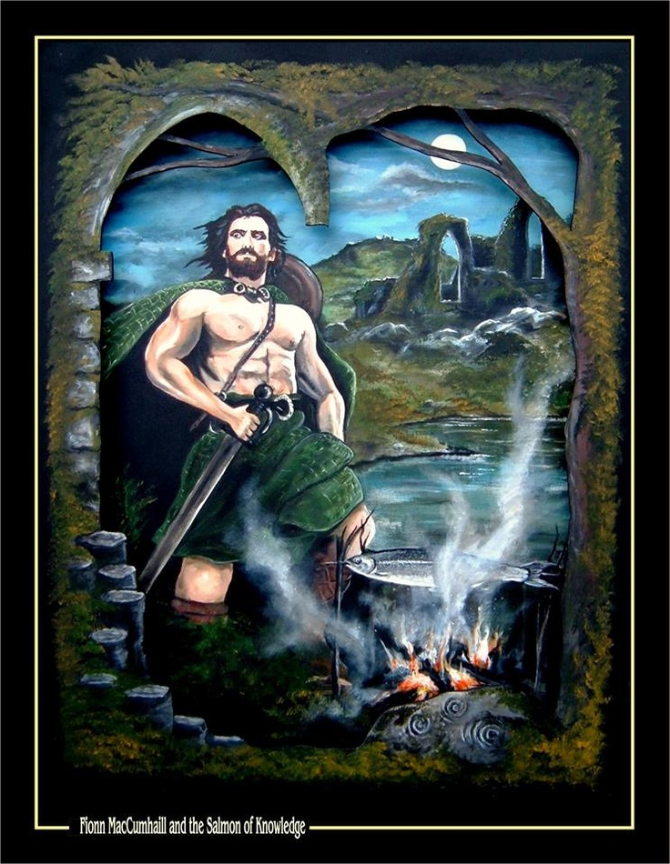 The stories of Finn (Irish: Fionn) mac Cumhaill and his band of soldiers the Fionna, appear to be set around the 3rd century in Gaelic Ireland and Scotland.   They differ from other Gaelic mythological cycles in the strength of their links with the Gaelic-speaking community in Scotland and there are many extant texts from that country.