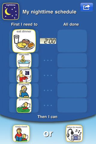 Choiceworks - Visual Support System with Schedule, Feelings and Waiting Picture Boards for Special Education and Autism By Bee Visual, LLC.........visual picture schedule app