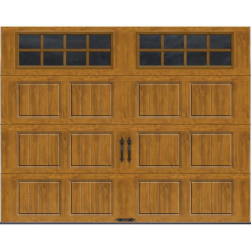 Ideal Door® Rectangular Lites Carriage House 9 ft. x 7 ft. Short Panel  sc 1 st  Pinterest & Best 25+ Menards garage doors ideas on Pinterest   Garage pergola ... pezcame.com