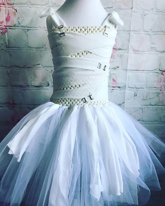 Mummy Tutu Dress Halloween Tutu Dress Fancy Dress For Girls