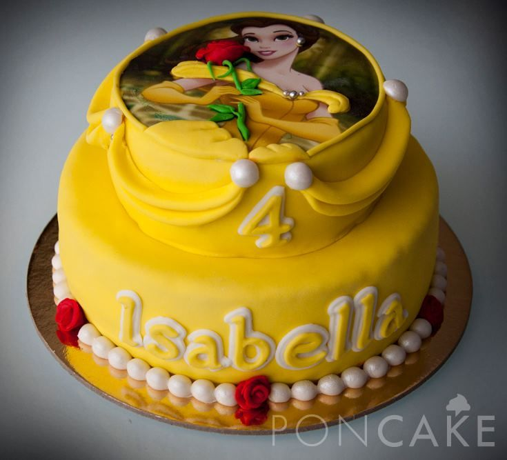 28 best beauty and the beast cakes images on Pinterest Birthdays