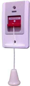 Emergency Pull Cord Switch #DisabledBathroomSafety >> See more accessible living tips at http://www.disabledbathrooms.org/handicap-bathroom-accessories.html