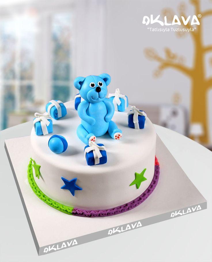 Ayıcıklı Bebek Doğum Günü Pastası size ve sevdiklerinize özel pastalar. Ürün fiyatı ve detayları için tıklayınız. Veya 0212 503 43 73 telefon numaramızdan arayınız.