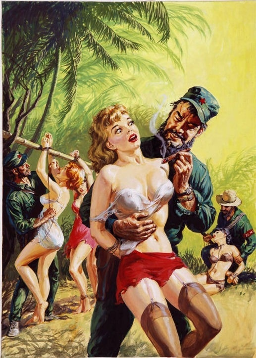 Norman Saunders Vintage Pulp Art Illustration | Female-Centric Pulp Art | Sugary.Sweet | #Pulp #Art #Illustration