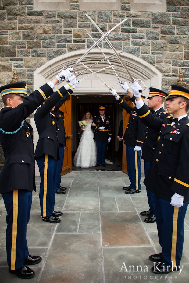 Military Weddings at West Point  |catholic chapel/thayer wedding