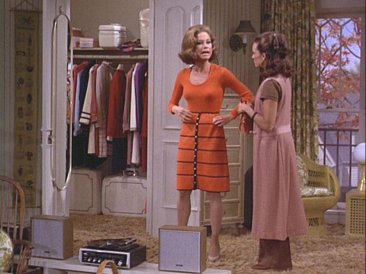 Rhoda Morgenstern wearing her trademark Boho Chic Style w ...