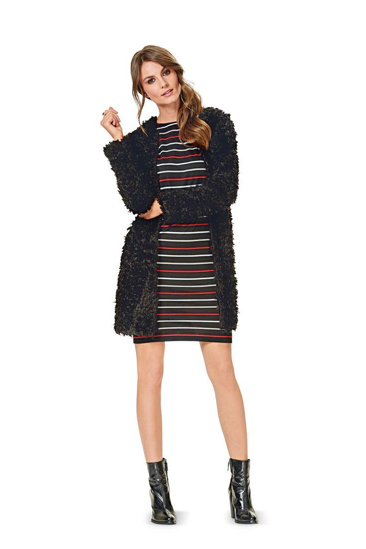 Кардиган и платье