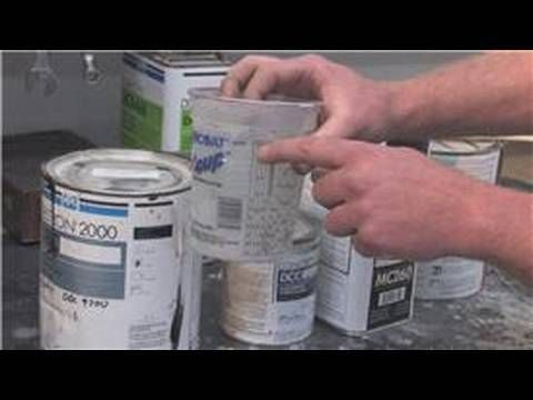 Auto Painting : How to Mix Auto Paint