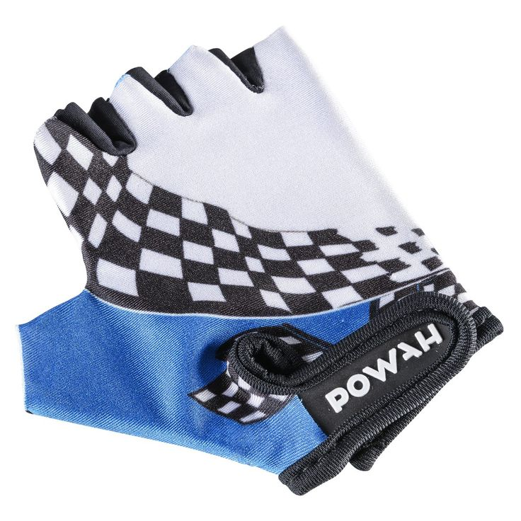 Powah Junior glove SS Blue 15 - Sykkelhansker - xxl.no
