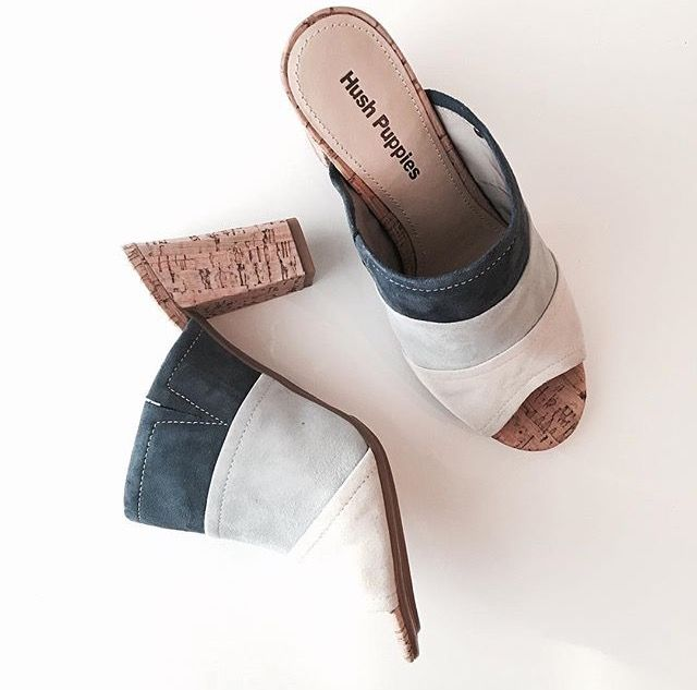 Start your Spring shoe collection with Hushpuppies new arrivals!  @jesshereandnow