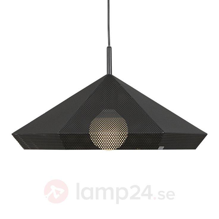 Designertaklampa Priamo med lätt transparent skärm
