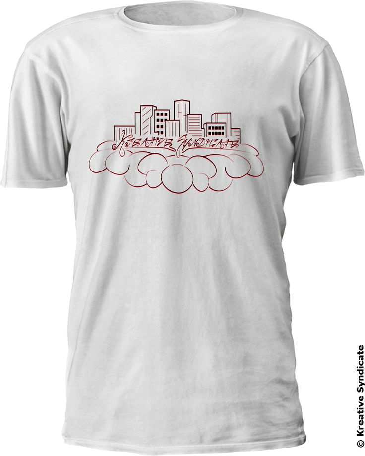 In the clouds KS Tee by kreativesyndicate.com