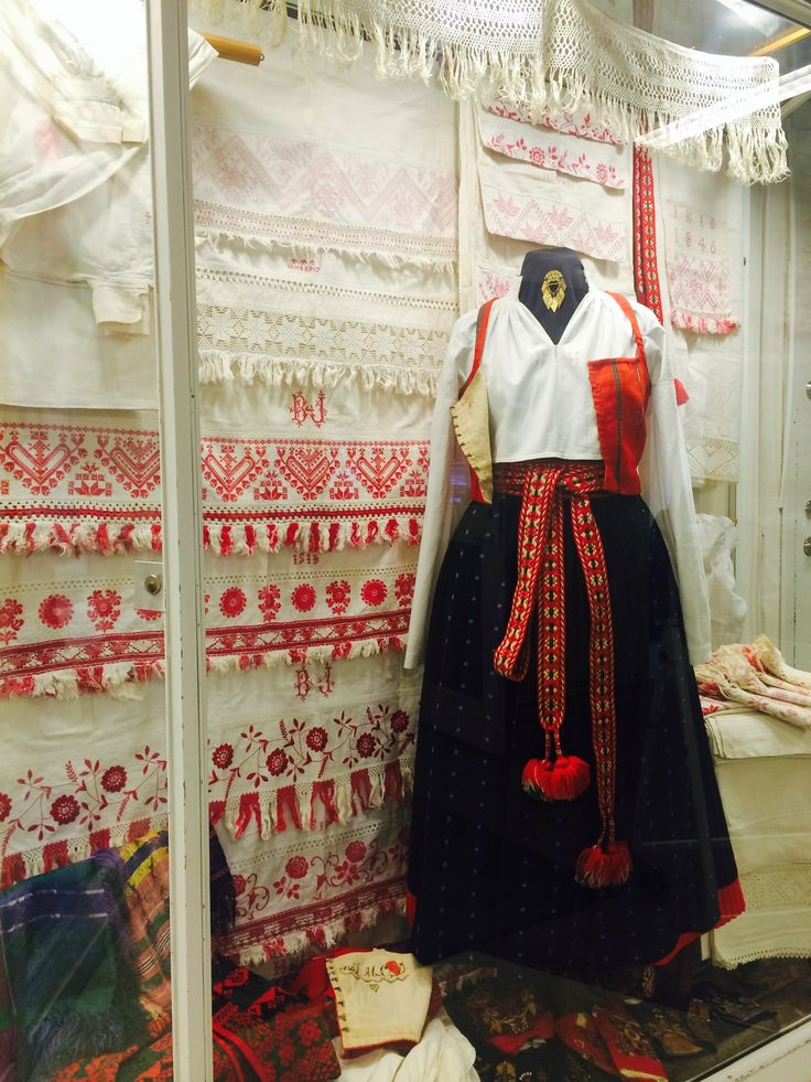 Swedish folk costume from Delsbo.