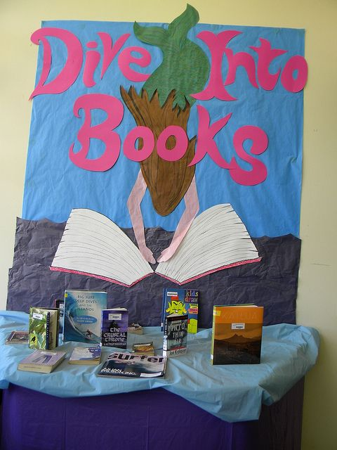 Flickr group for book displays