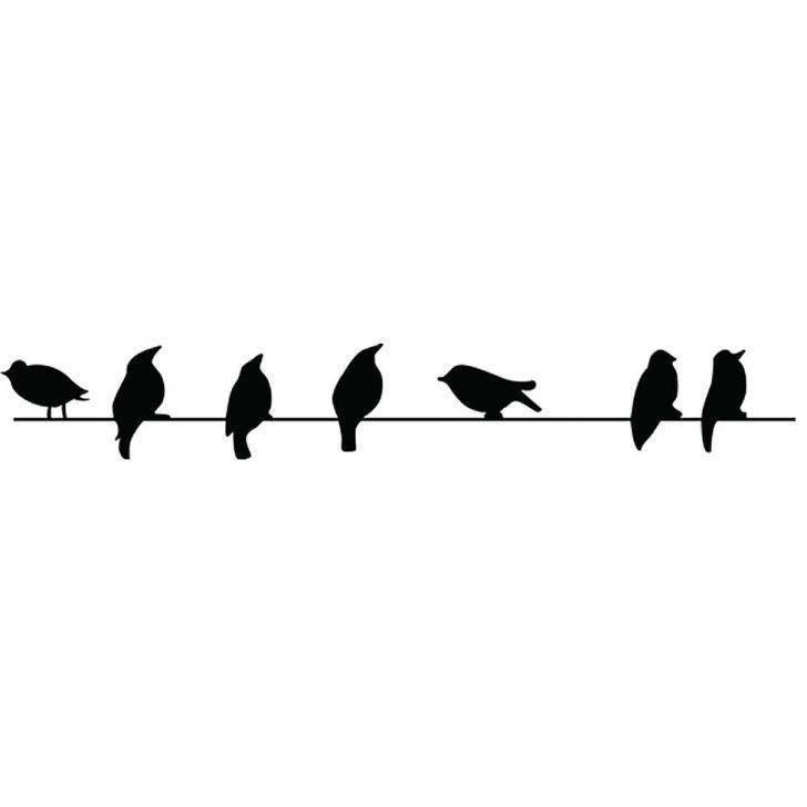 Adesivo de Parede Pássaros M Haus For Fun