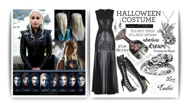 Which Character Are You Dressing Up As This Halloween? by igiulia on Polyvore featuring BCBGMAXAZRIA, King Baby Studio, John Hardy, Carolina Glamour Collection, KING and halloweencostumes