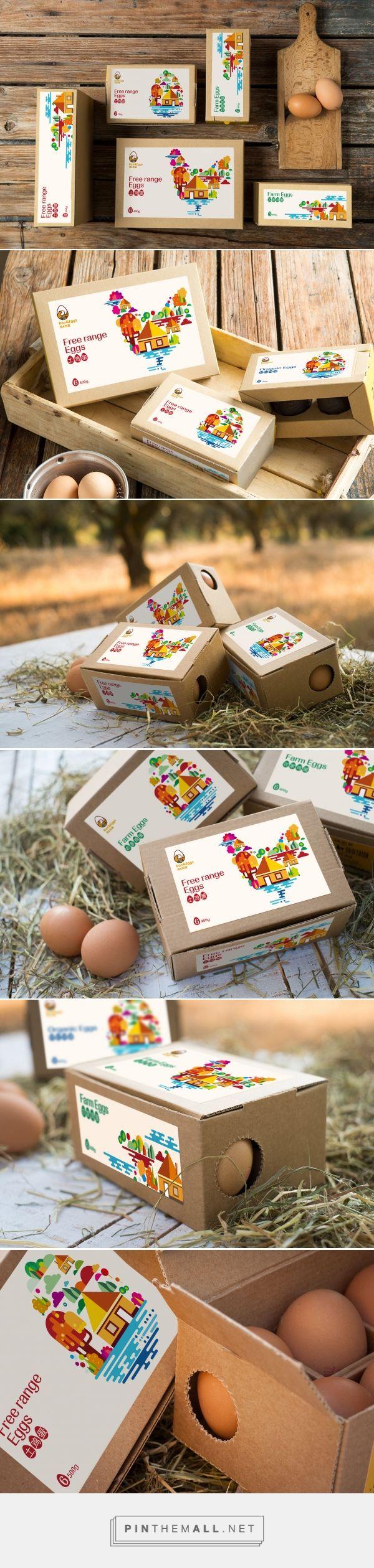 土鸡蛋包装设计[排沙设计]-古田路9号 - created via https://pinthemall.net