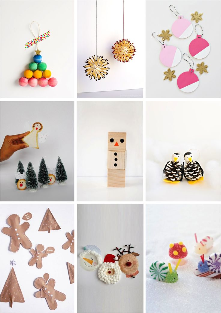We've rounded up 9 Christmas crafts many of which are easy enough for the kids to do by themselves and some are even perfect for toddlers to try their little hands at, maybe with a little help from their older siblings.