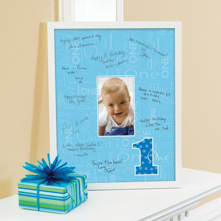 Everything One Boy Framed Signature Matte, 79336
