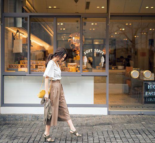 すべて1万円台で買えて毎日着られる、2016年春の新定番5つ  #anecan #fashion #ファッション #スカーチョ #とろみ素材 #葛岡碧