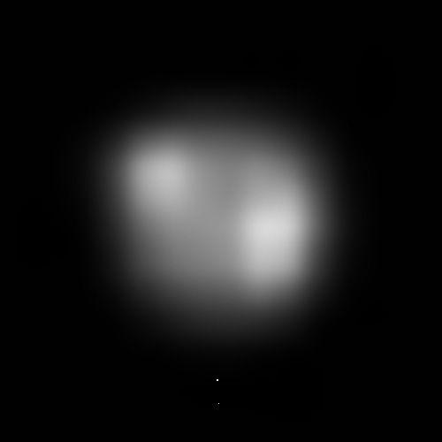 Raumsonde erspäht zum ersten Mal mögliche Polkappe auf Pluto . . . http://grenzwissenschaft-aktuell.blogspot.de/2015/05/raumsonde-erspaht-zum-ersten-mal.html . . .  Abb.: NASA/JHU-APL/SwRI