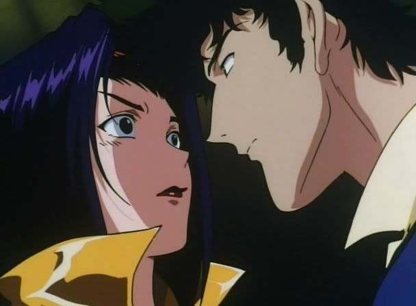 Cowboy Bebop - Faye Valentine and Spike - Anime