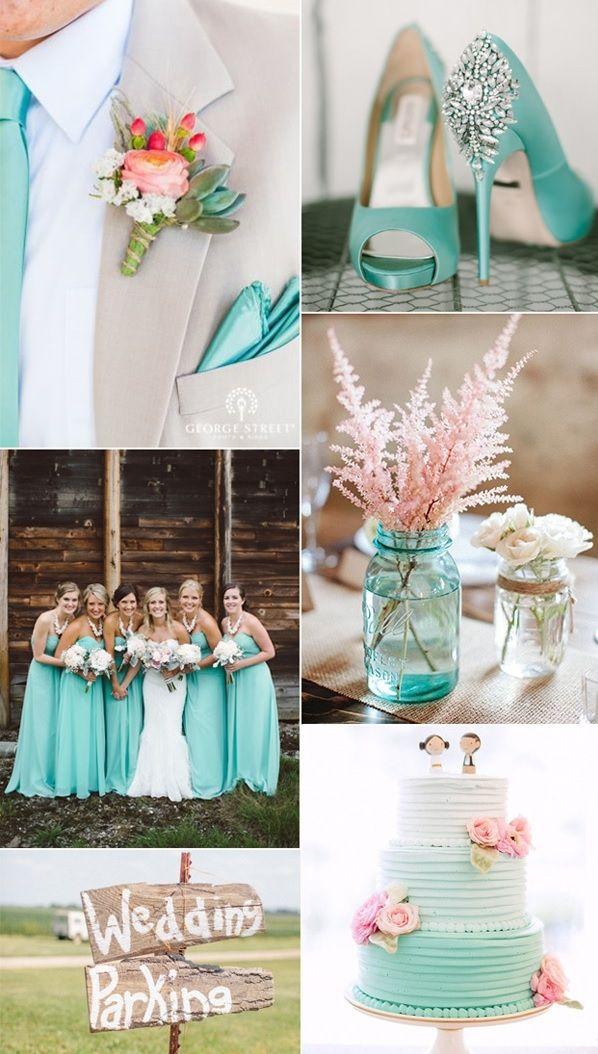 Imagen colores-para-boda-color-aguamarina del artículo Los colores mas bonitos para decorar una boda en 2017