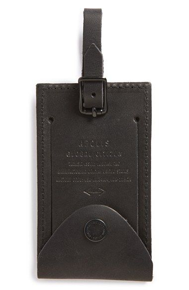 Apolis Leather Luggage Tag available at #Nordstrom