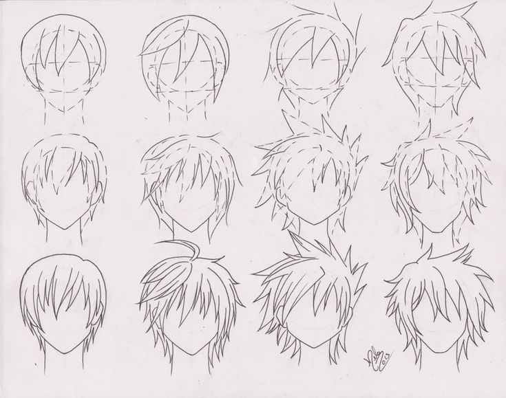 Best 25+ Anime Boy Hairstyles Ideas On Pinterest