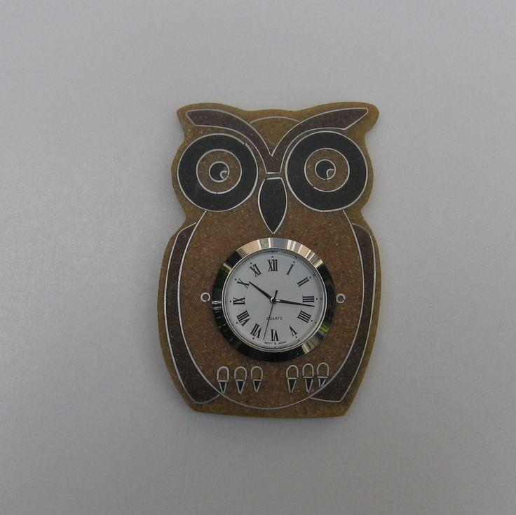 originale gufetto orologio di sabbia - time piece presssand  €45 - www.a-modomio.com