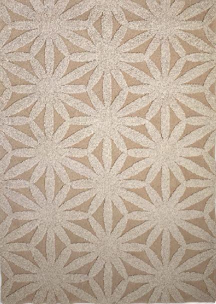 Karpet GAN-rugs Flower ivory