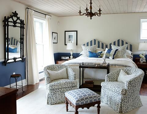 Master Bedroom - Sarah Richardson. Decorating. Renovation. See the before at the link.