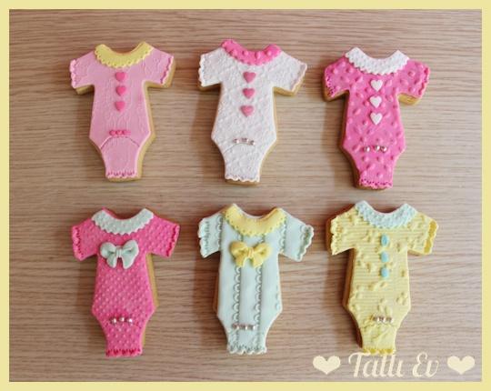 Kız Bebek Kurabiyeleri baby shower hoşgeldin bebek