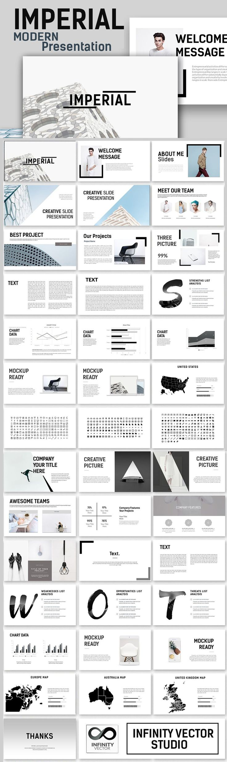 Best Research Powerpoint Templates Images On