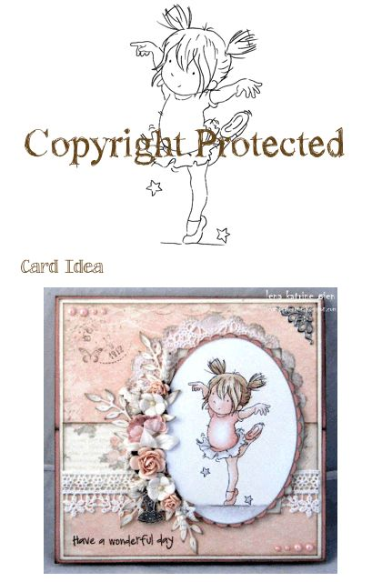 Stamp Dainty Dancing Cards For Children Pinterest