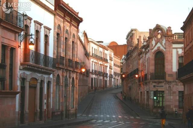 Urban plan Zacatecas Mexico