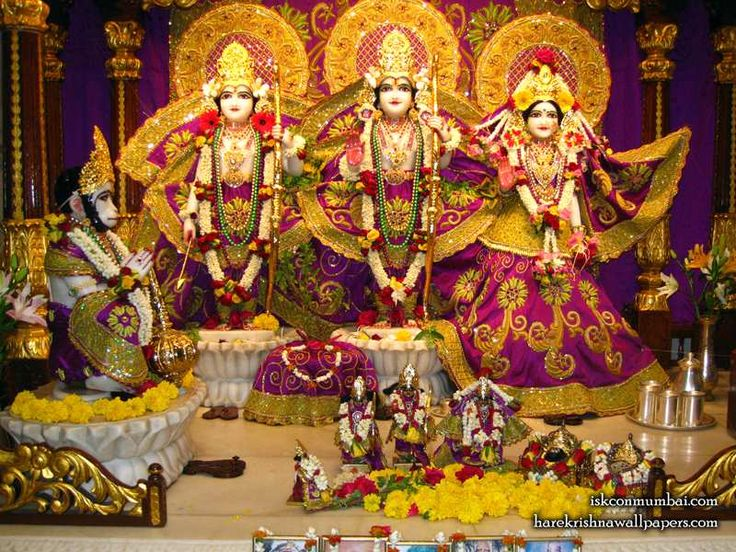 http://harekrishnawallpapers.com/sri-sri-sita-rama-laxman-hanuman-iskcon-juhu-wallpaper-010/