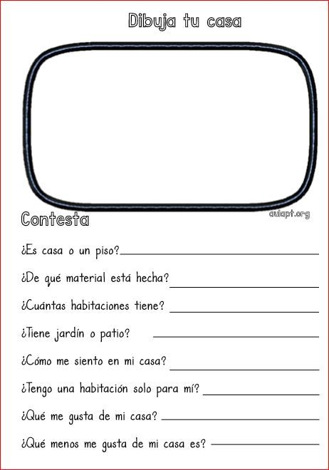 A partir de unos cuadernos que he encontrado en entreninos.org he creado un cuadernillo de trabajo para que los alumnos reflexionen sobre su propia vida,