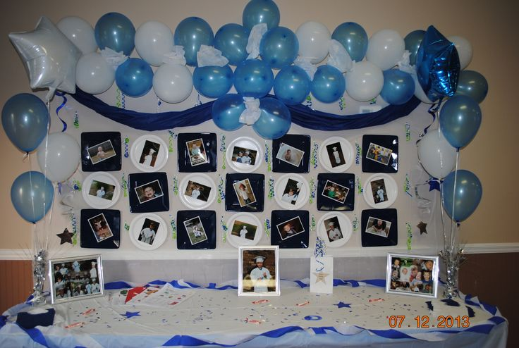 Bryan 39 s kindergarten graduation table decorations kinder graduation pinterest pictures of - Kindergarten graduation decorations ...