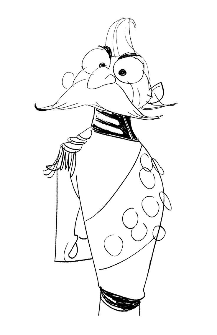 Frozen coloring pages all characters