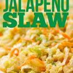 SippitySup Charred Jalapeño Coleslaw with Cotija Cheese | SippitySup