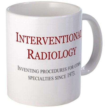 Interventional Radiology Small Mug on CafePress.com