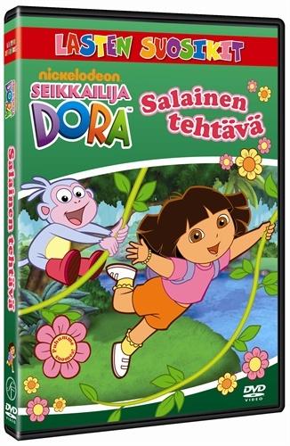 Seikkailija Dora dvd. Meiltä löytyy Nyt juhlitaan!,Joulu ja Tartu tähtiin.